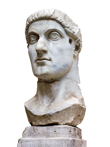 Statue de Constantin Ier, Musée du Capitole, Rome