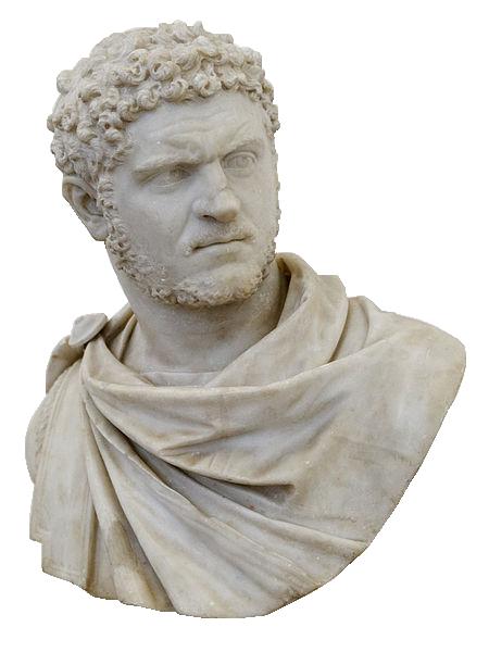 Portrait de l'empereur Caracalla