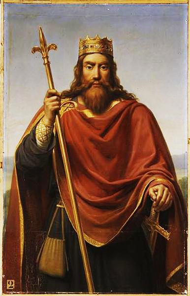 Clovis Ier, peinture du XIXe siècle