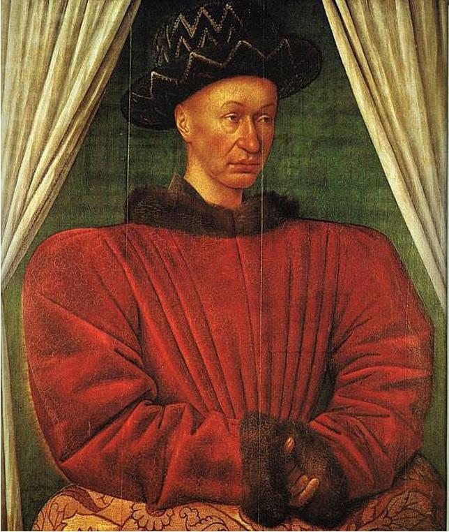 Charles VII, par Jean Fouquet