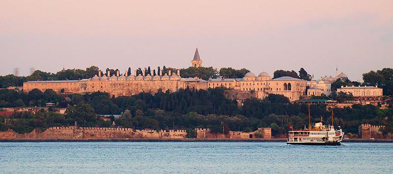 Le Sérail (palais de Topkapi) de nos jours