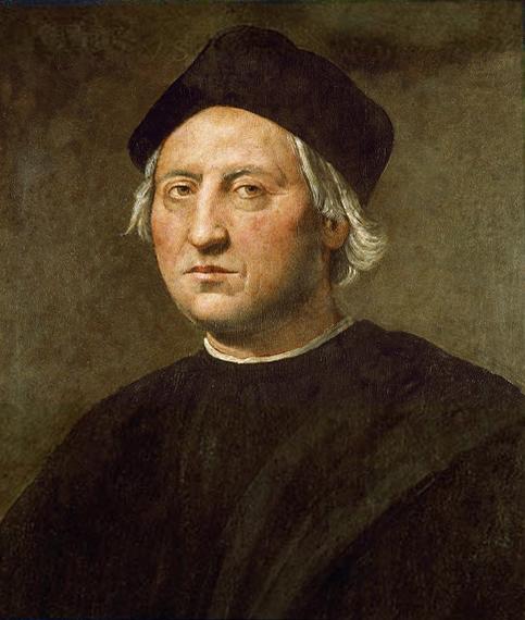 Portrait de Christophe Colomb par Ridolfo del Ghirlandaio (vers 1520)