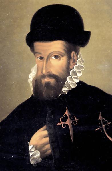 Portrait de Francisco Pizarro (tableau anonyme, XVIe siècle)