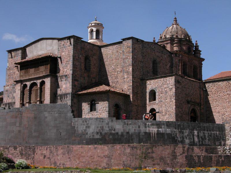 L'église Santo Domingo de Cuzco, construite sur les ruines du Temple du Soleil