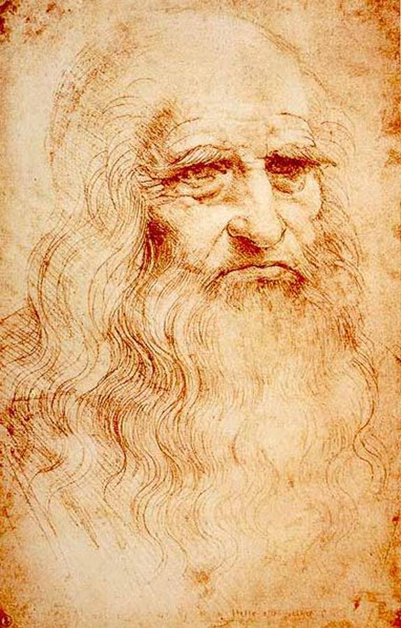 Autoportrait de Léonard de Vinci