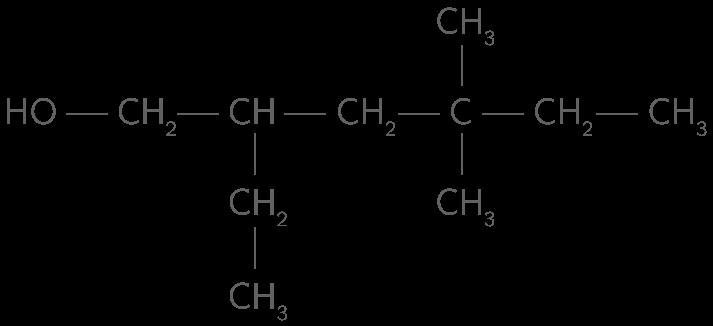 2-éthyl−4,4-diméthylhexan−1-ol