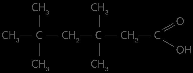 Acide 3,3,5,5-quadriméthylhexanoïque