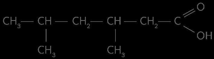 Acide 3,5-diméthylhexanoïque