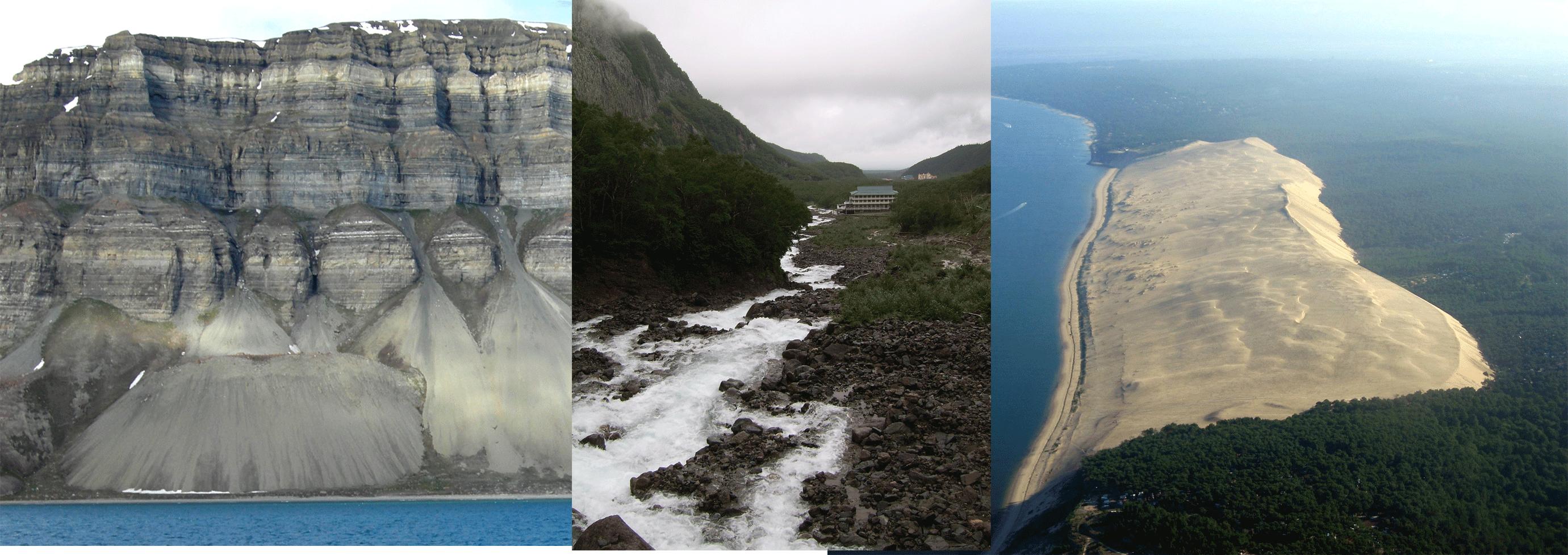 L'action de l'eau sur les roches et le paysage - 5e ...