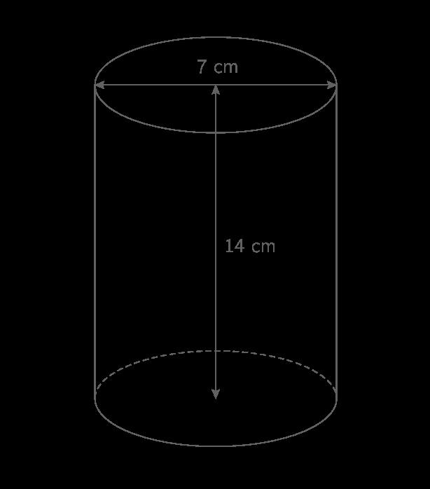 kartable 5 me math matiques sp cifique exercices calculer le volume d 39 un cylindre de. Black Bedroom Furniture Sets. Home Design Ideas