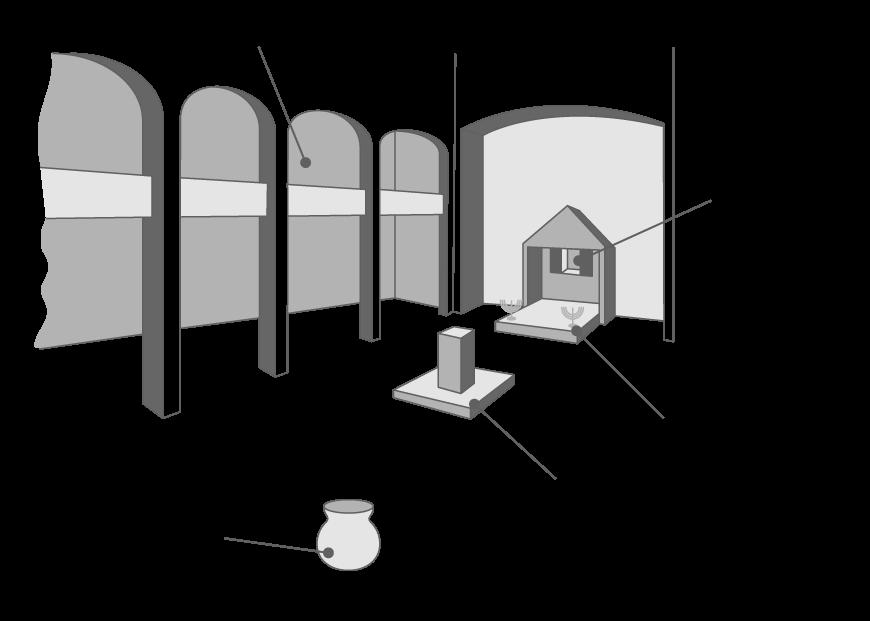 Une synagogue dans l'Empire romain