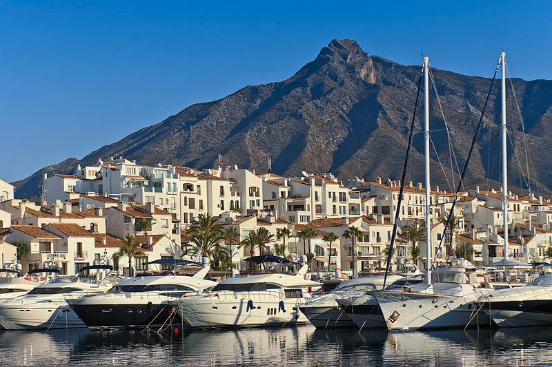 La bétonisation de Marbella en Espagne