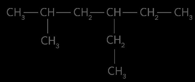 Exemple d'alcane
