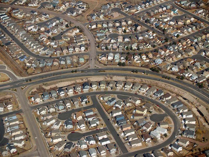 Étalement urbain dans le Colorado (États-Unis)
