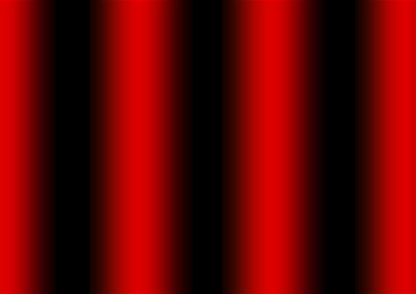 Franges d'interférences entre deux ondes lumineuses monochromatiques
