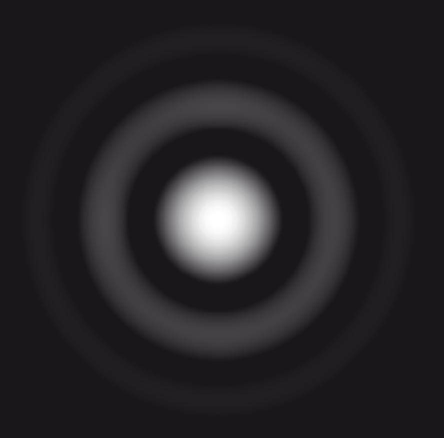 Figure de diffraction obtenue avec une ouverture circulaire
