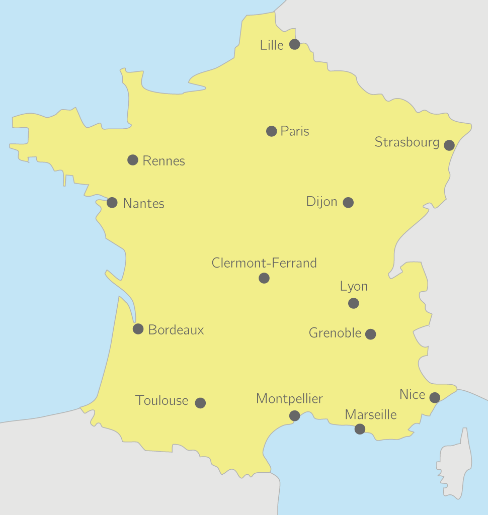 Les Dix Premiere Villes De France