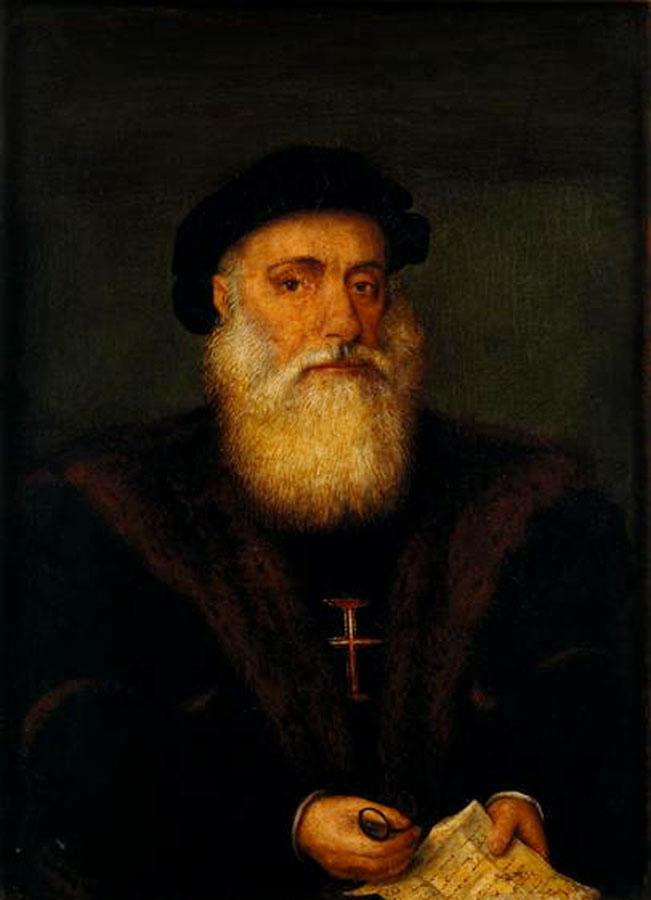 Portrait de Vasco de Gama