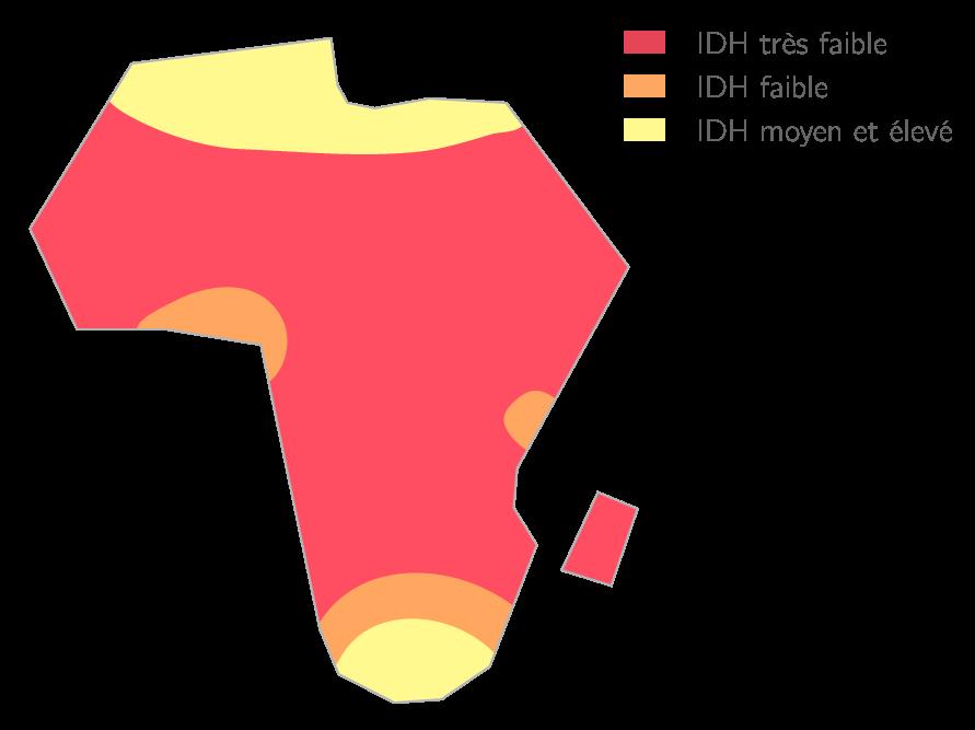 Des écarts de développement