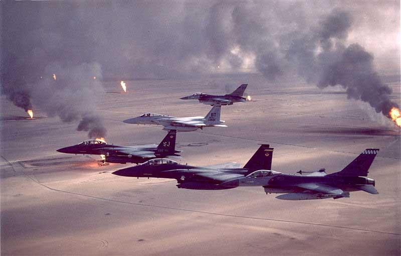 Des bombardiers américains en Irak