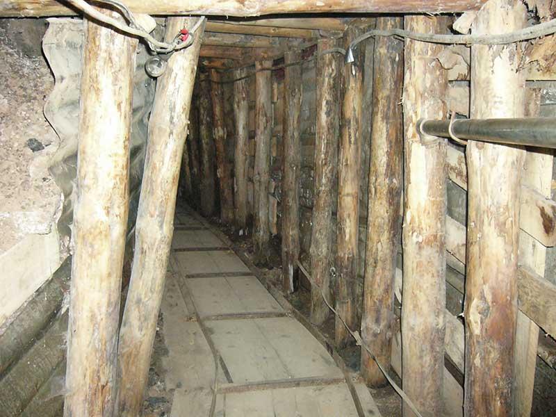 Le tunnel permettant d'acheminer les vivres aux habitants de Sarajevo assiégés
