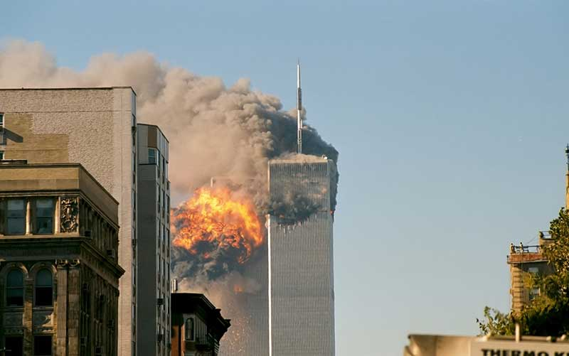 L'attentat contre les tours jumelles du World Trade Center