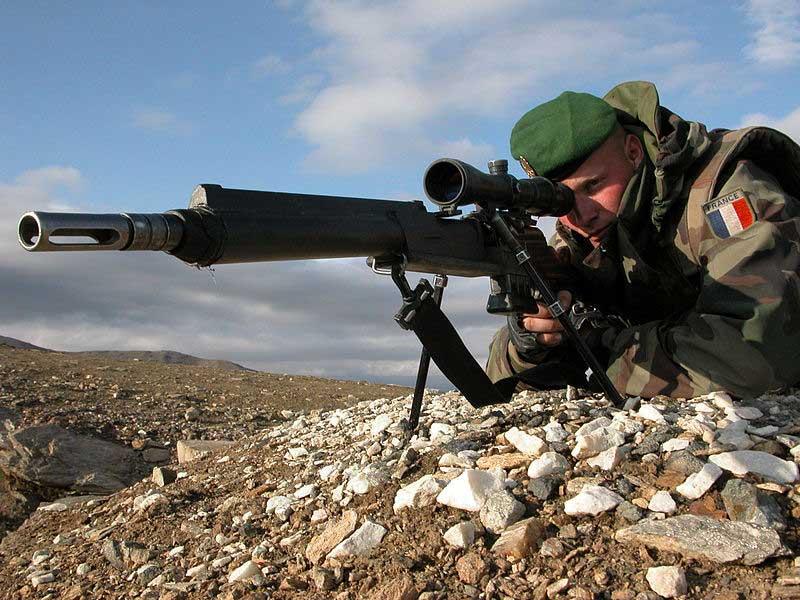 Un soldat français de la coalition en Afghanistan
