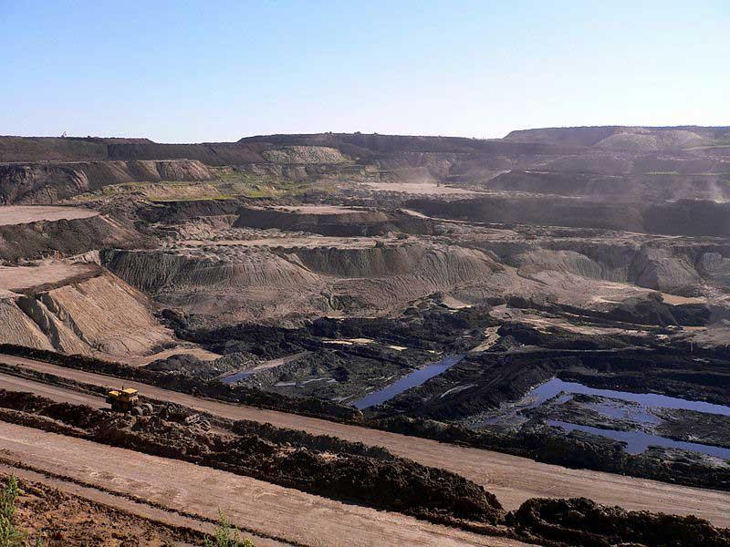 Une mine de charbon en Mongolie inférieure