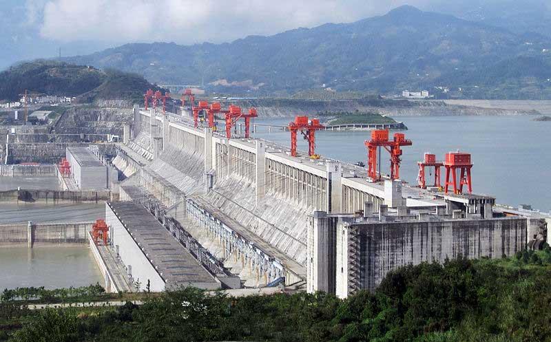 Le barrage des Trois-Gorges