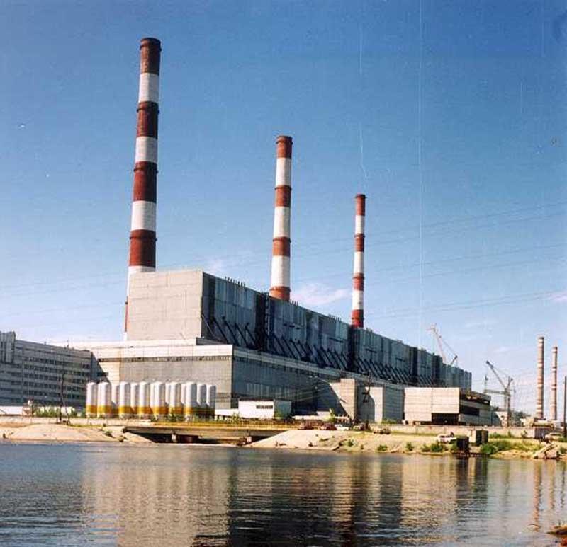 Une centrale à fioul en Russie
