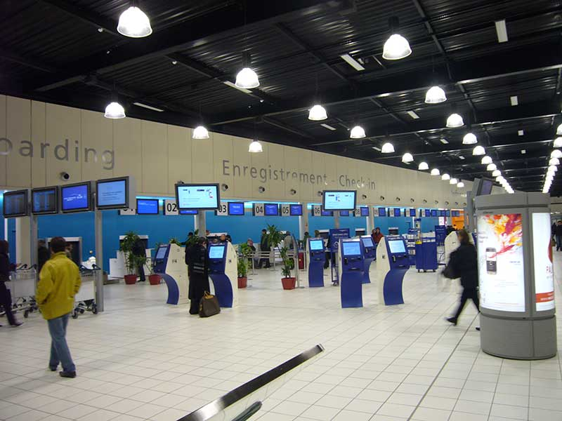 L'aéroport de Roissy-Charles de Gaulle