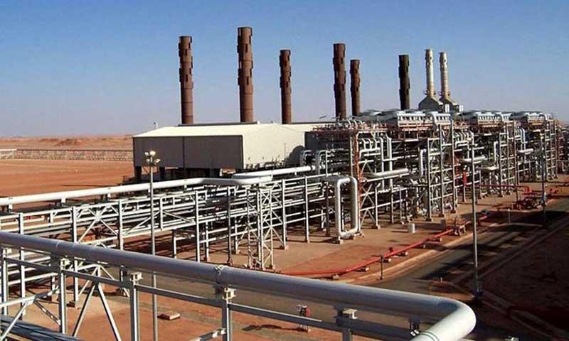 Site d'exploitation du gaz à In Amenas en Algérie par la multinationale British Petroleum