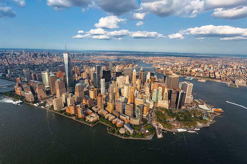 Le quartier de Manhattan