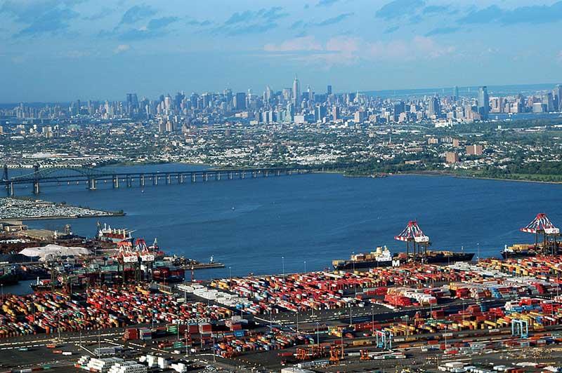 Le port de Newark
