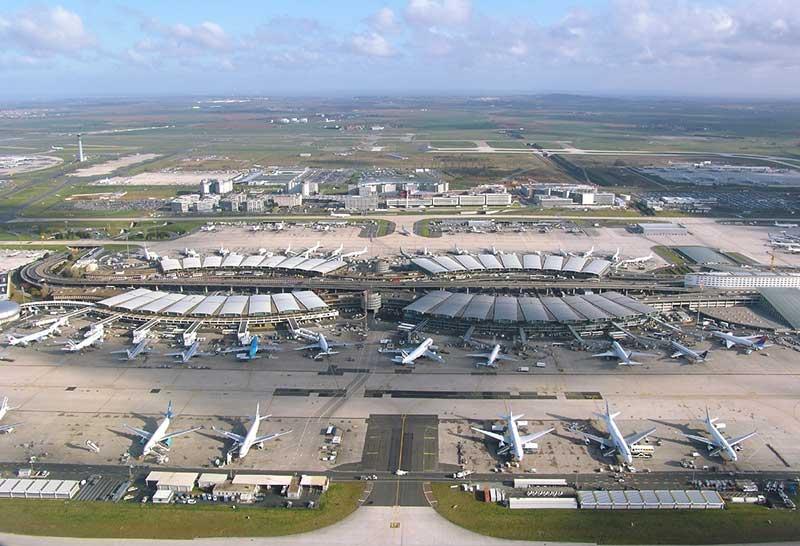 L'aéroport Roissy-Charles de Gaulle
