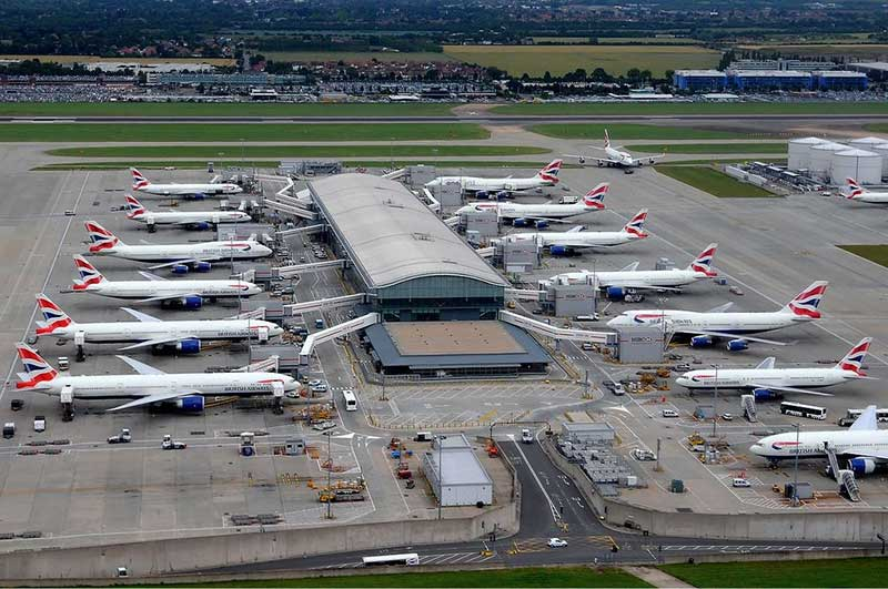 Le terminal 5 de l'aéroport d'Heathrow