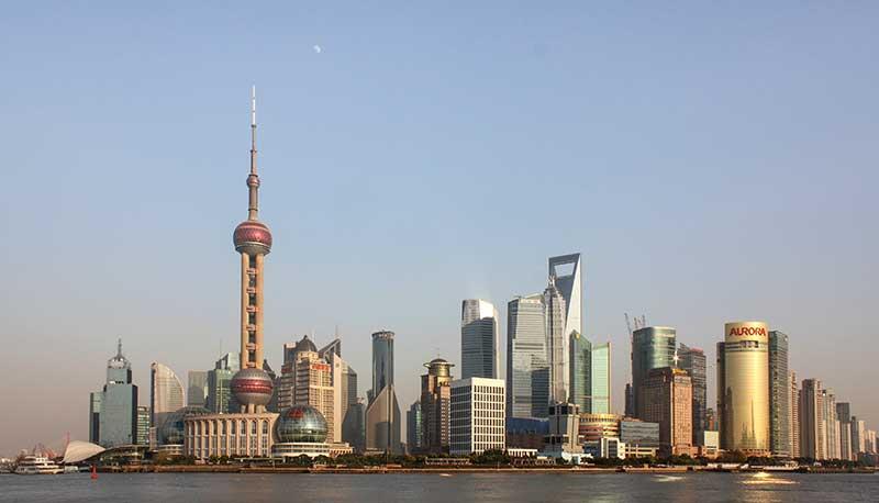 Pudong, le CBD de Shanghai
