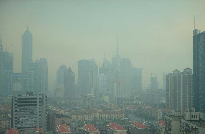 La pollution atmosphérique à Shanghai constitue un véritable problème de santé publique