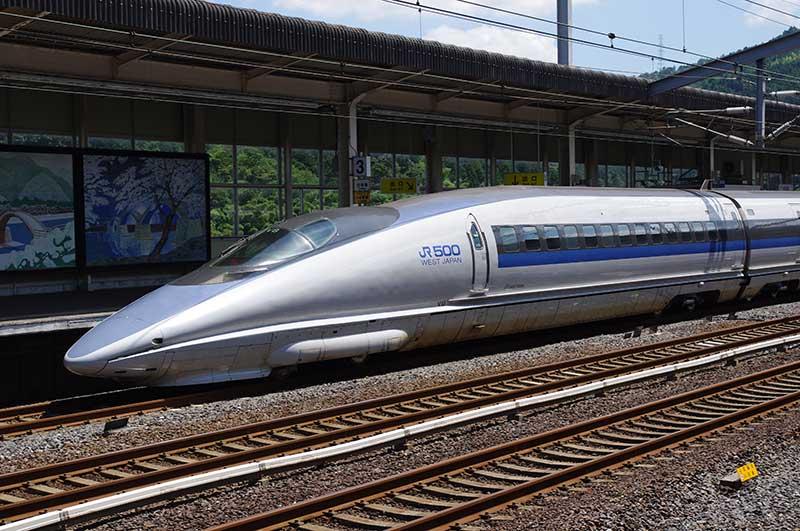 Le Shinkansen permet de relier toutes les villes de la mégalopole japonaise.