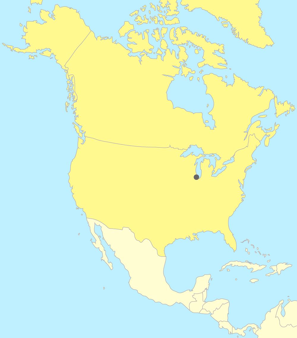 Carte Amerique Ville.Placer Les Pays Et Les Villes D Amerique Du Nord Sur Une