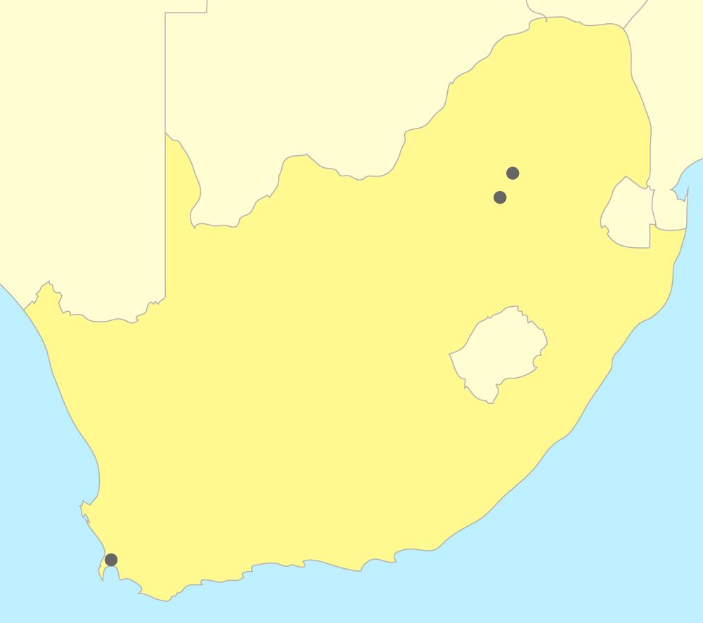 Carte de l'Afrique anglophone