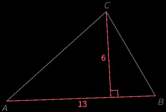 Calculer L Aire D Un Triangle 2nde Methode Mathematiques Kartable