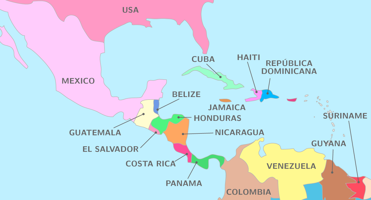 Carte Cuba Amerique.Cuba Carte Amerique Mismis
