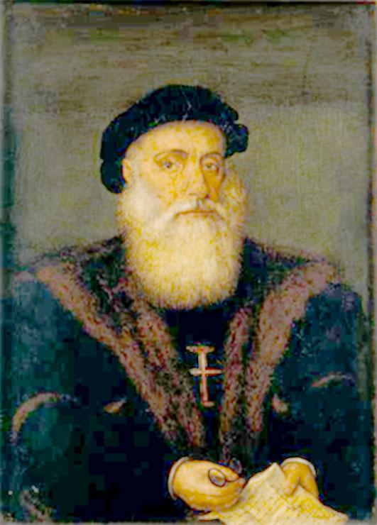 Portrait de Vasco de Gama (début du XVIe siècle)