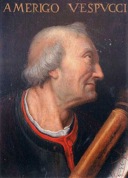 Portrait d'Amerigo Vespucci (XVIe siècle)