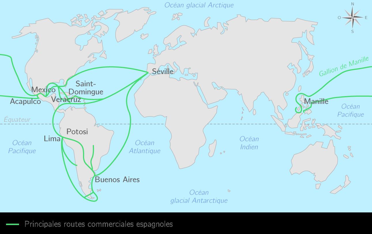 Séville, pôle de l'Empire espagnol