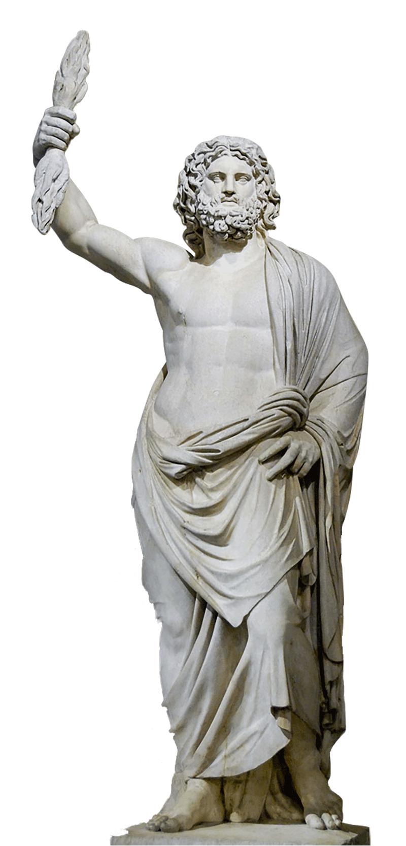 Zeus sous sa forme romaine, Jupiter