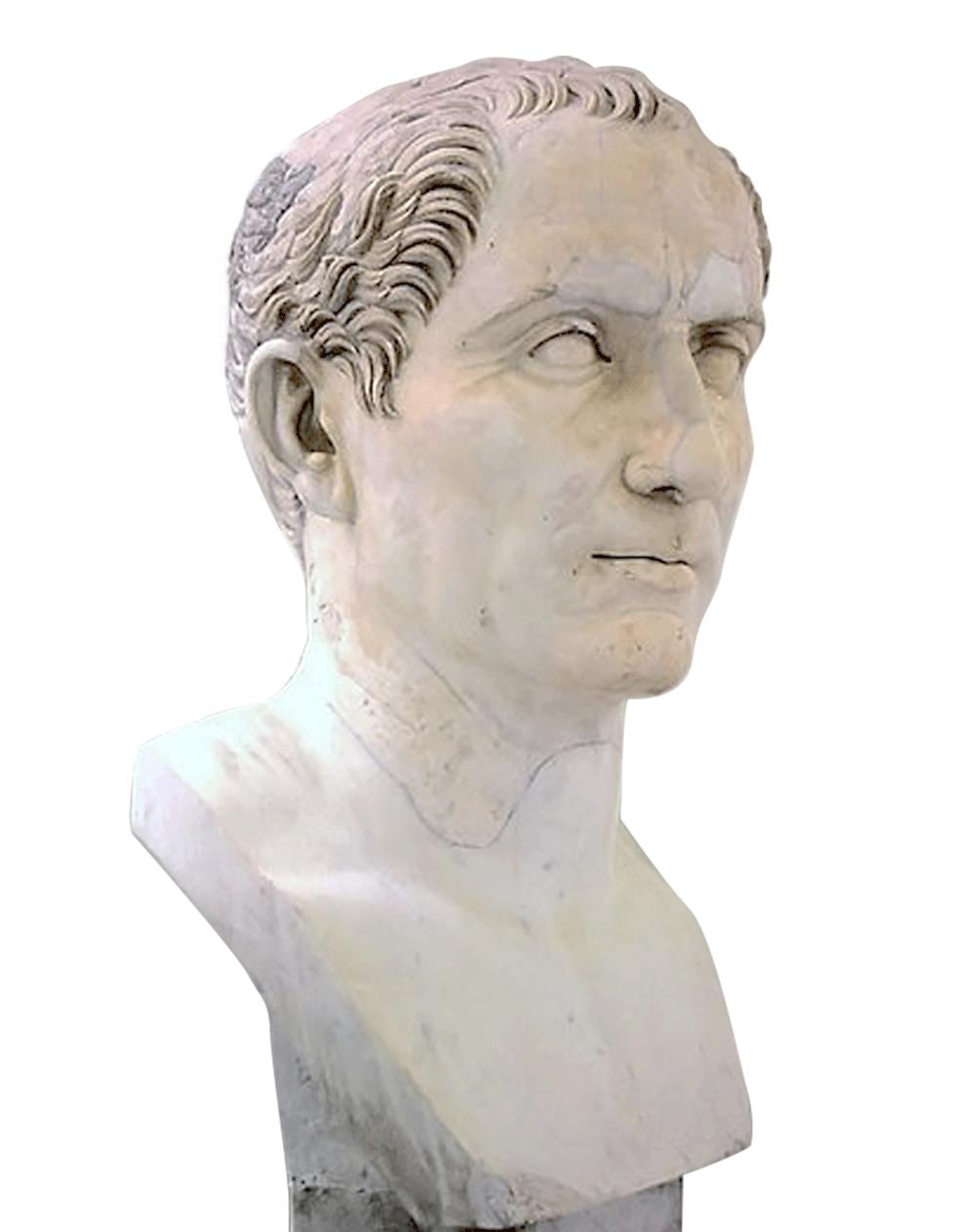 Buste en marbre de César