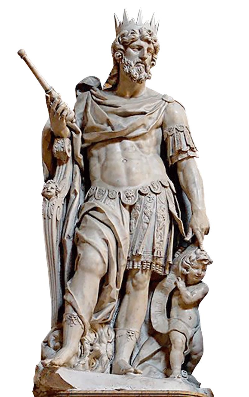 Statue du roi David