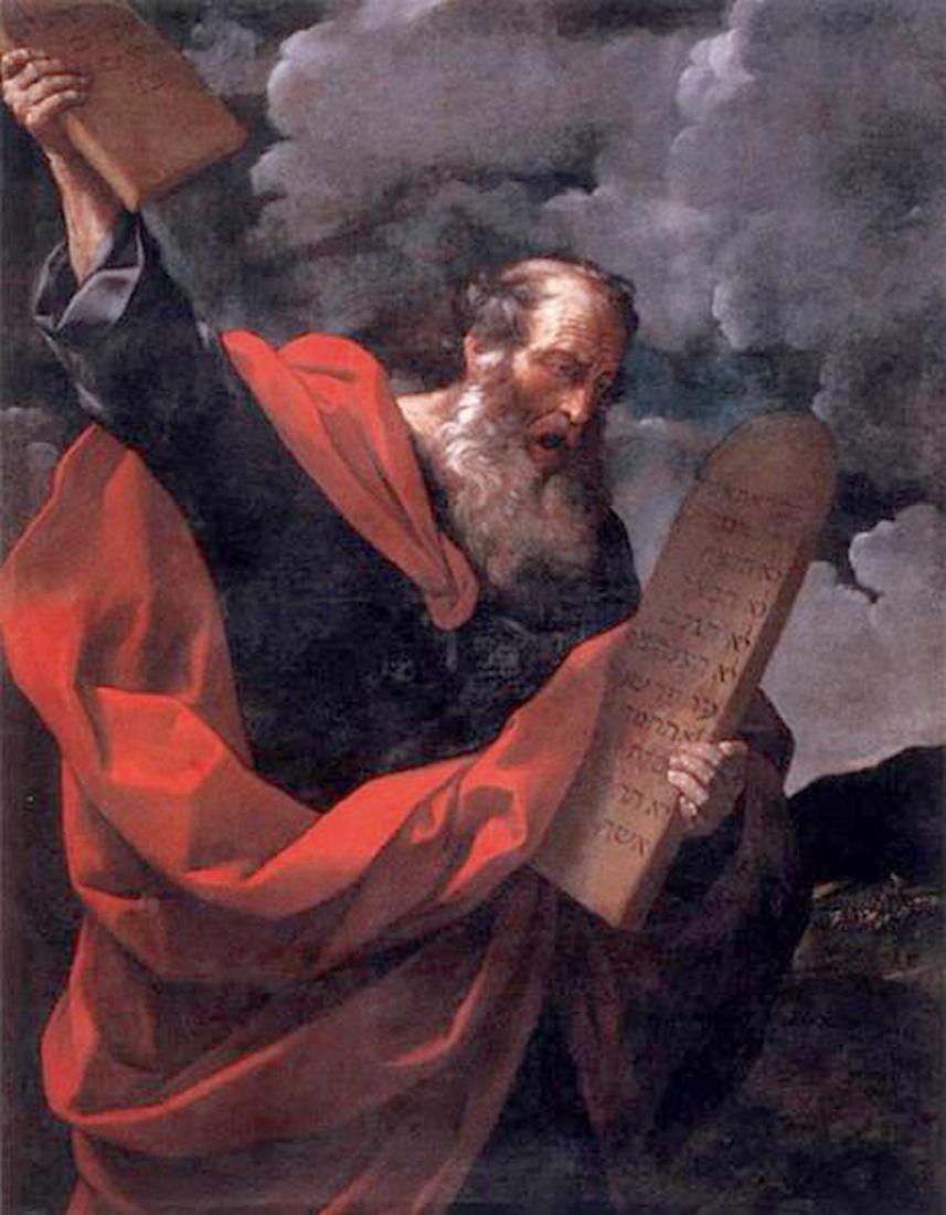 Moïse avec les Tables de la Loi